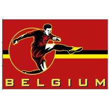 Supportersvlag België EK 2021