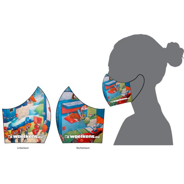 Gepersonaliseerde neus- en mondmaskers