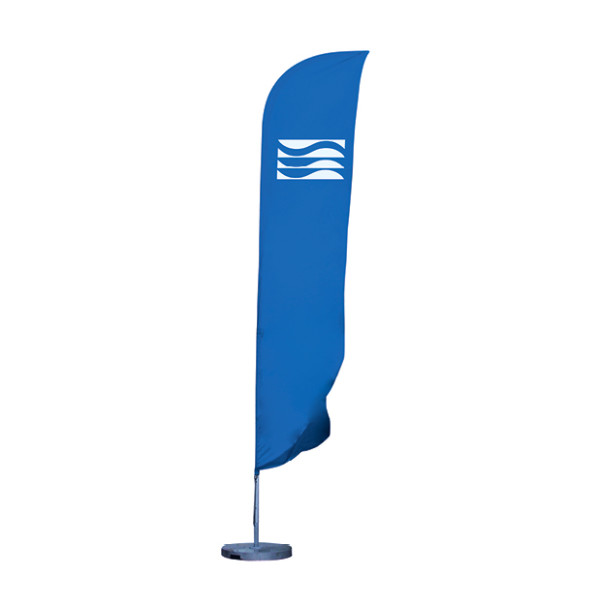 Standard beach flag