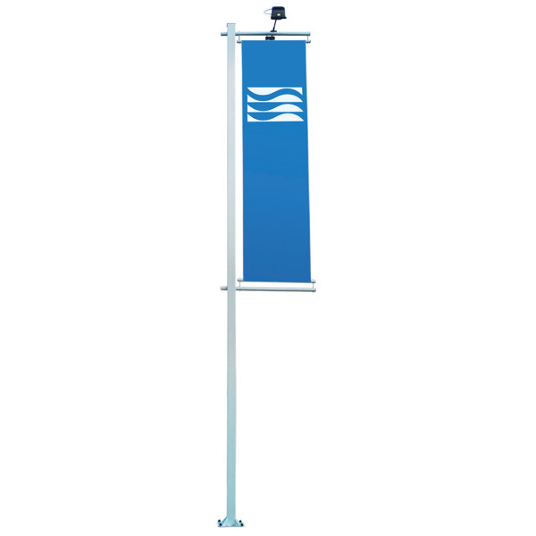 Soltis flag pole