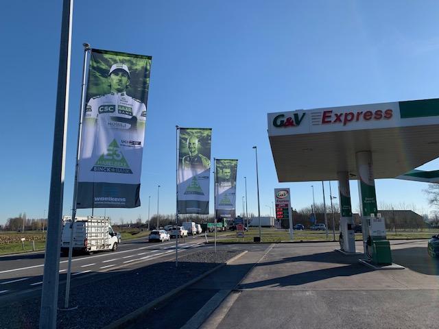 E3-vlaggen voor G&V door Waelkens